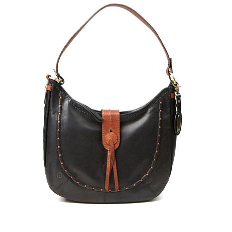 Born® Alamitos Bronco Distressed Leather Hobo