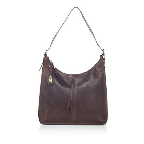 Born Antonio Distressed Leather Hobo