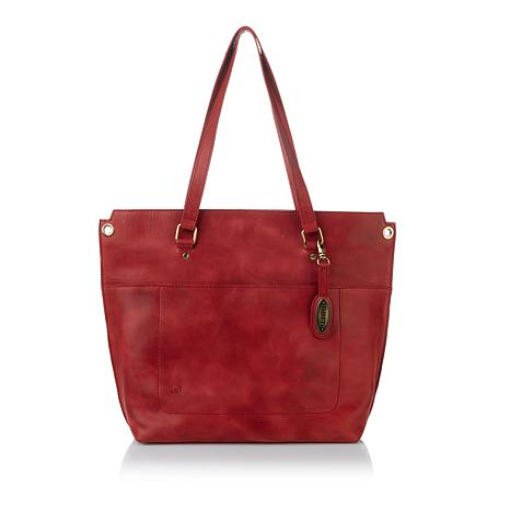 Born Baxter Leather Crossbody Tote