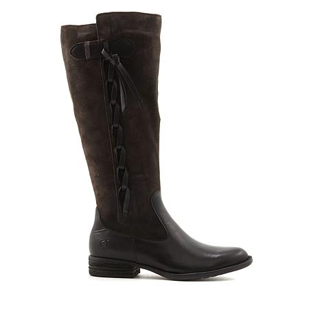Born® Cook Leather and Suede Riding Boot