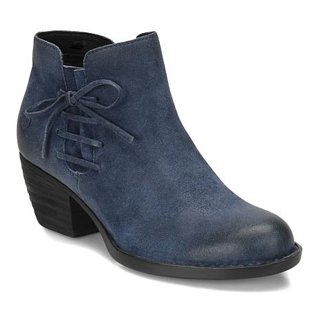 Born® Farnes Burnished Suede Ankle Bootie