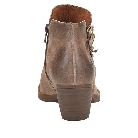 7d965f097688 Born® Farnes Burnished Suede Ankle Bootie - 8787403