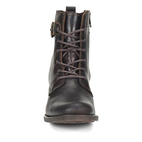 Born® Misty Leather Lace-Up Bootie