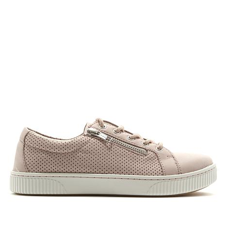 Born® Tamara Leather Lace-Up Side-Zip Sneaker