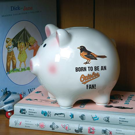 Born to be a Baltimore Orioles Fan Piggy Bank