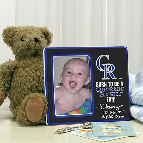 Born to be a Colorado Rockies Fan Photo Frame