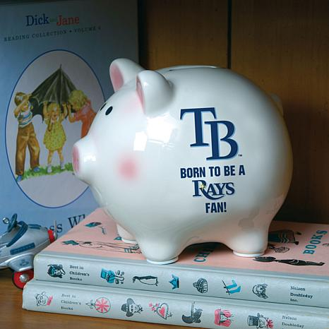 Born to be a Tampa Bay Rays Fan Piggy Bank