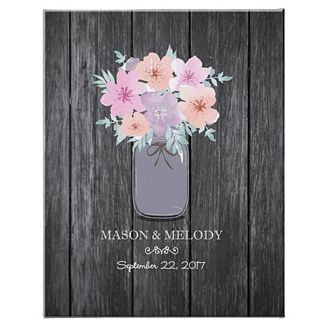 Bouquet of Love Canvas - 8x10