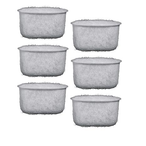 Braun 6-pack Replacement Charcoal Water Filters
