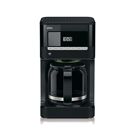 Braun BrewSense 12-cup Drip Coffee Maker - Black