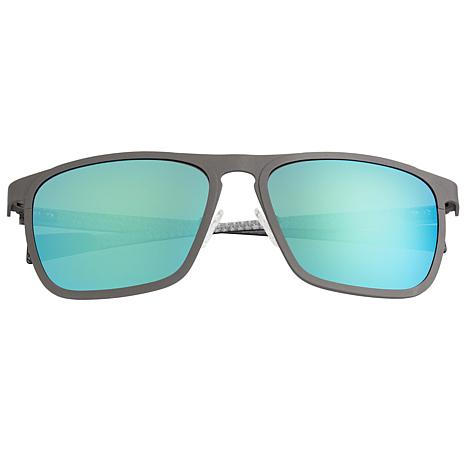 Breed Capricorn Sunglasses with Black Frame and Blue Lenses
