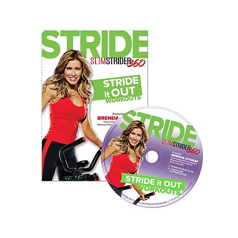 "Brenda DyGraf ""Stride It Out"" Workout DVD"