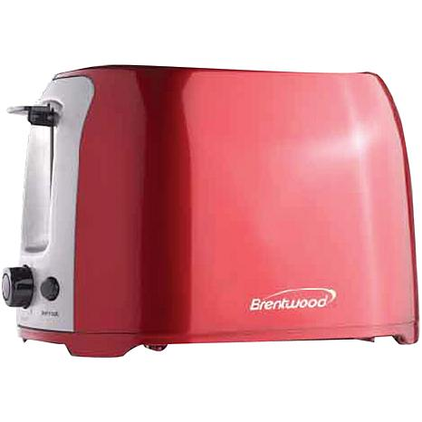 Brentwood Appliances 2 Slice Cool-Touch Toaster with Extra-Wide Slots