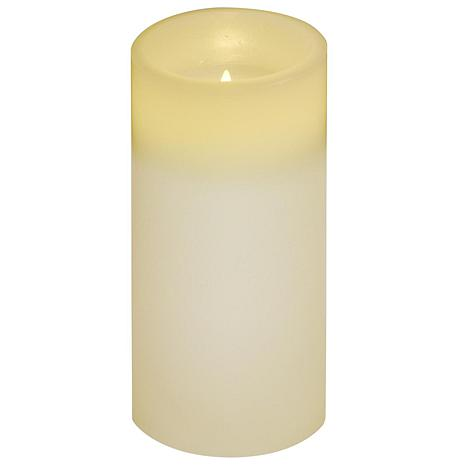 """Brite Star 3"""" x 6"""" Flameless Ivory Candle"""