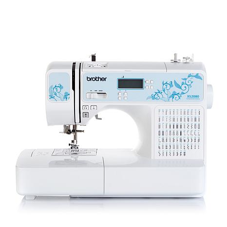 Brother Computerized 80-Stitch Sewing Machine with Foot Package