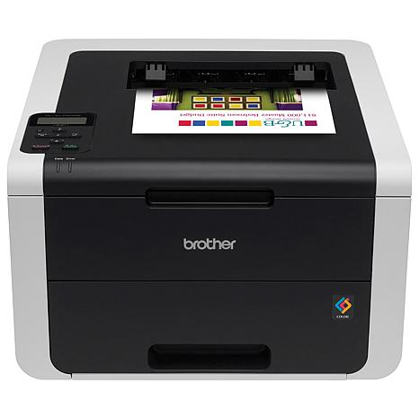 Brother Digital Wireless Color Duplex Printer Bundle w/Software