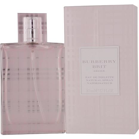 Burberry Brit Sheer by Burberry Spray for Women 1.7 oz.