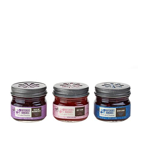 Butchers Bunches 3-pack 5 oz. Jars of Handcrafted Fruit Preserves