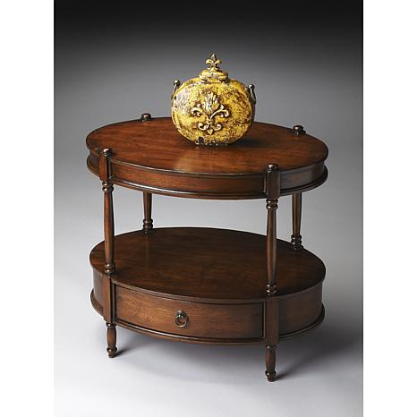 Butler Specialty Hardwood Oval Accent Table