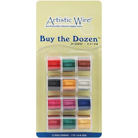 Buy The Dozen Colored Copper Wire - 24 Gauge