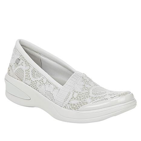 Bzees Flirty Washable Slip-On Lace Athleisure