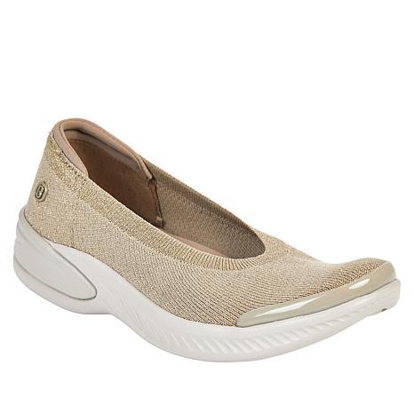 Bzees Nutmeg Sparkle Knit Washable Slip-On Shoe