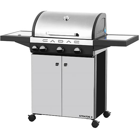 Cadac Stratos 3 Stainless Steel 39,000 BTU Gas Grill