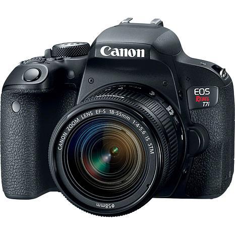 Canon EOS Rebel T7i 24.2MP Digital SLR Camera with EF-S 18-55mm Lens