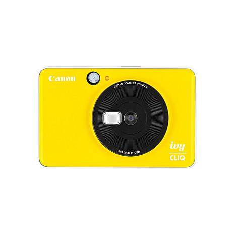 Canon IVY CLIQ Bumblebee Yellow Instant Camera Printer