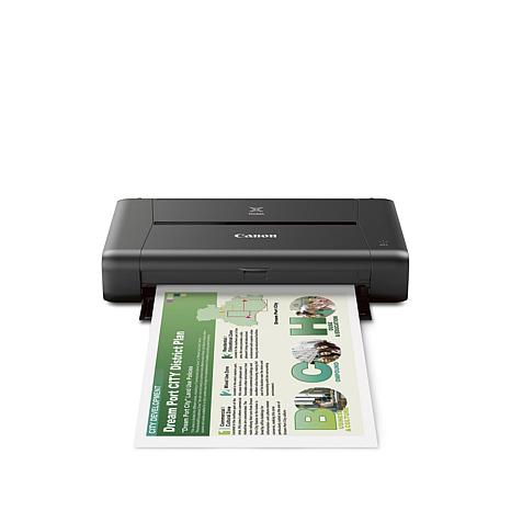 Canon PIXMA iP110 Mobile Wireless Printer with Software Voucher