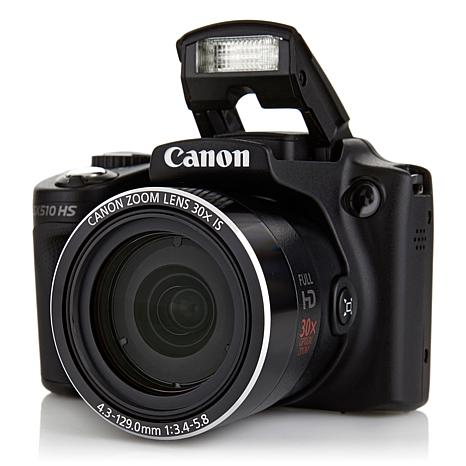 Canon PowerShot 12MP 30X Zoom Wi-Fi SLR-Style Camera