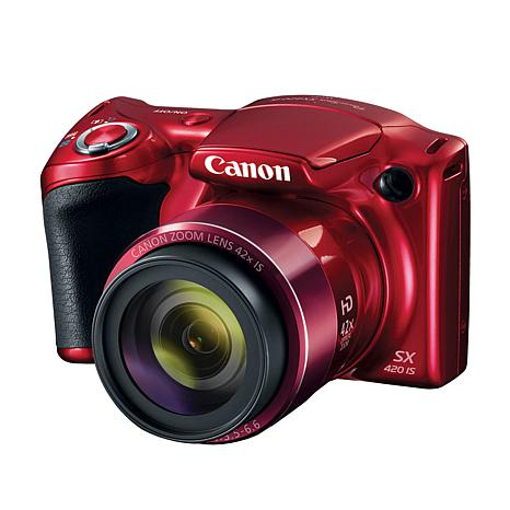 Canon PowerShot SX420 IS 20MP 42X Optical Zoom Camera with 16GB Card