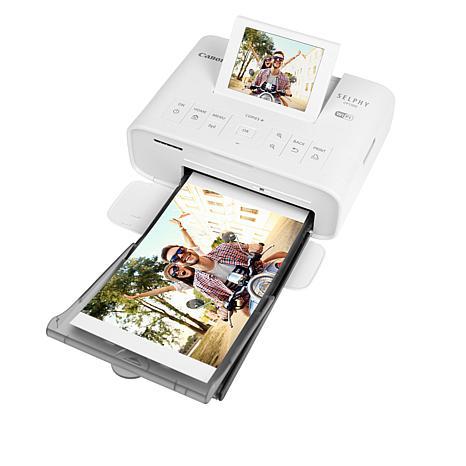 Canon Selphy CP1300 Wireless Compact Photo Printer Bundle