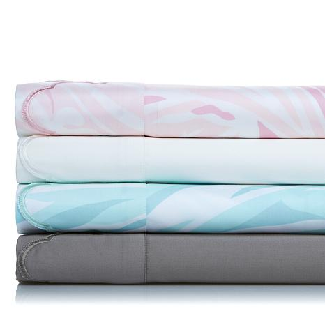 Carleton Varney 100% Cotton 500TC Scalloped Sheet Set