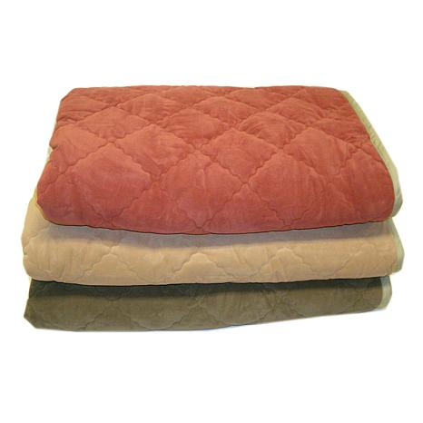 Carolina Pet Co. Diamond Quilt  & Cloud Sherpa Throw