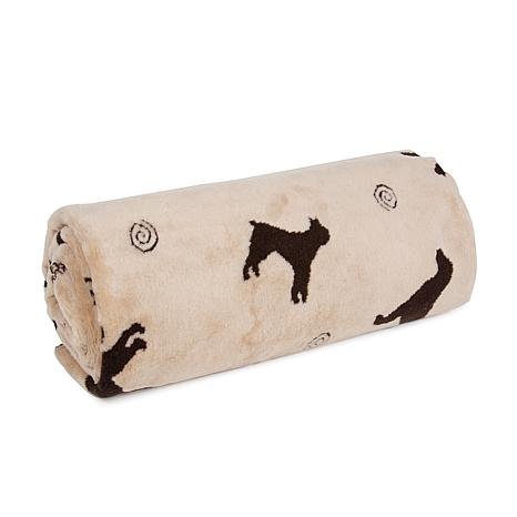 Carolina Pet Company Plush Tossed Dog Throw - Small