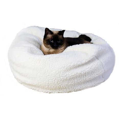 Carolina Pet Company Sherpa Puff Ball® Pet Bed - XS