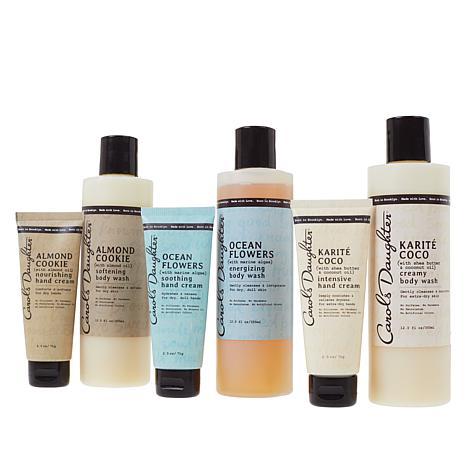 Carol's Daughter Body Wash & Hand Cream 6-piece Set