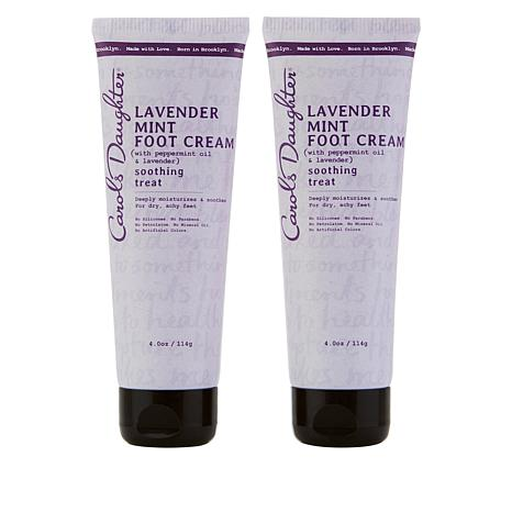 Carol's Daughter Lavender Mint Foot Cream Duo