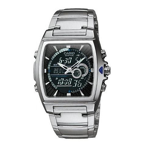Casio™ Men Ana-Digi Edifice Thermometer Bracelet Watch