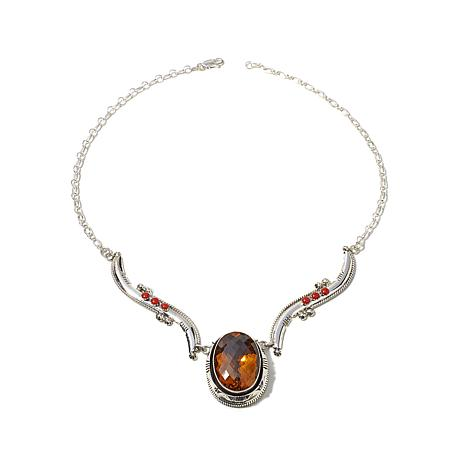 "Chaco Canyon Couture ""Sunrise"" Multigemstone Necklace"