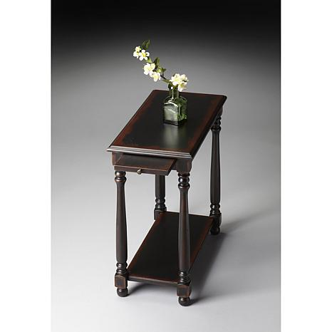 Chairside Table With Old Fashioned Spooled Legs 7197750 Hsn