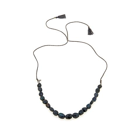 Chan Luu Blue Labradorite Adjustable Cord Necklace