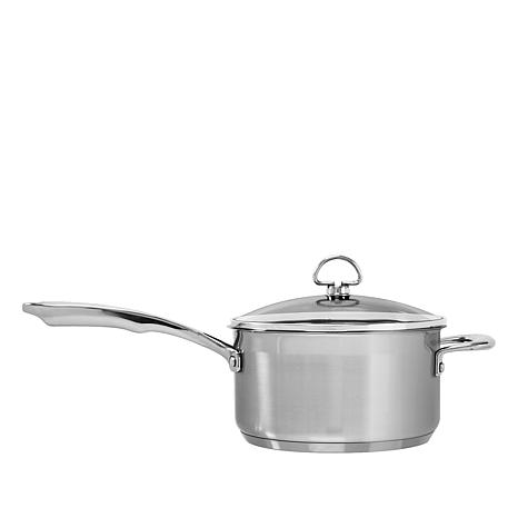 Chantal Induction 21 3.5-Quart Stainless Steel Saucepan