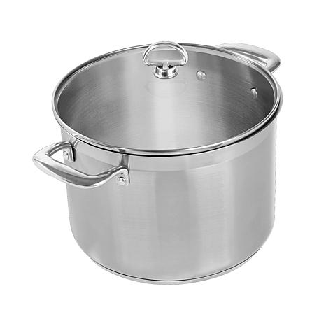 Chantal Induction 21 8-Quart Stainless Steel Stockpot