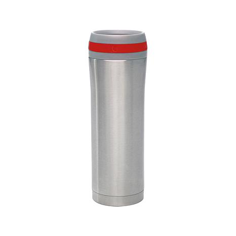 Chantal Set of 2 15 oz. Stainless Steel Travel Mugs