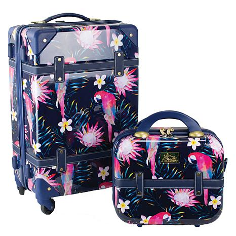 Chariot Parrot 20-inch Carry On and Beauty Case - Parrot