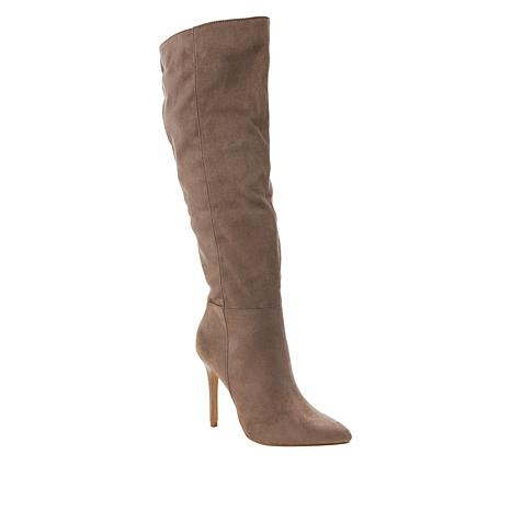 Charles By Charles David Daya Knee High Stiletto Boot Wide Calf