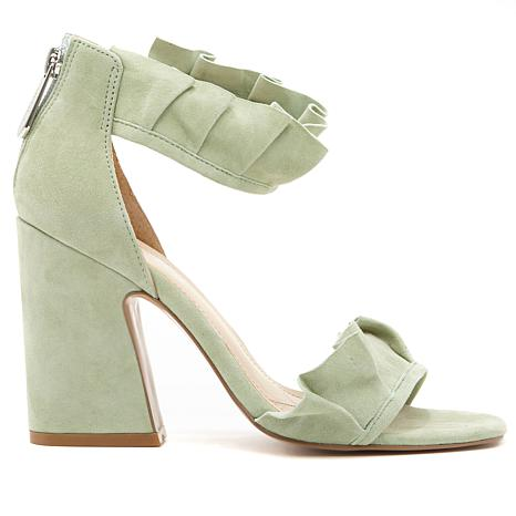 Charles by Charles David Haley Pleated Ruffle Sandal