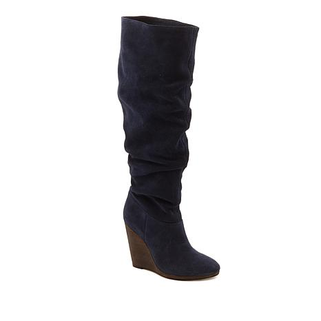 bfa7dde59e31 Charles by Charles David Holly Leather or Suede Wedge Boot - 8768534 ...
